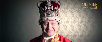 VIDEO: A Message From The King! HAMILTON's King George III Announces the 2019 Olivier Awards