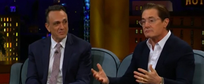 VIDEO: Pranks & Steroid Packs With Hank Azaria and Kyle MacLachlan