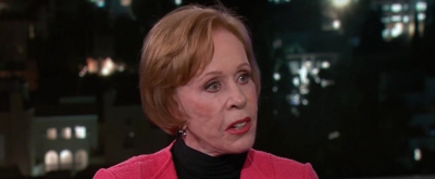 VIDEO: Stage & Screen Legend Carol Burnett Discusses Her Upcoming Netflix Series & Her Favorite TV Shows with Jimmy Kimmel