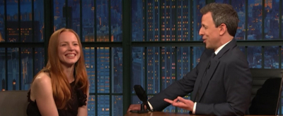 VIDEO: MY FAIR LADY's Lauren Ambrose Talks Playing Eliza Doolittle on LATE NIGHT WITH SETH MEYERS