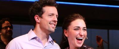 VIDEO: Hearts Start Racing! Sara Bareilles and Jason Mraz Duet for First WAITRESS Curtain Call
