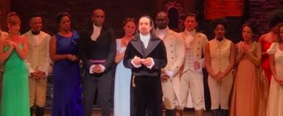 VIDEO: Lin-Manuel Miranda Gives Emotional Curtain Call Speech at Opening Night of HAMILTON in Puerto Rico