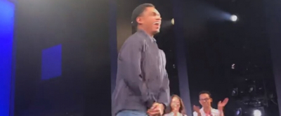 VIDEO: Roman Banks Takes Bows As The First Evan Hansen of Color!