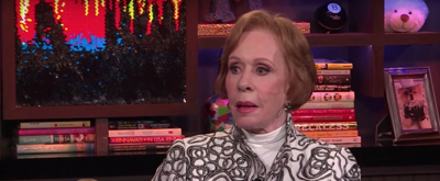 VIDEO: Carol Burnett Shares On Stage Mishaps & More on WATCH WHAT HAPPENS LIVE