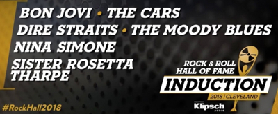 Bon Jovi, The Cars Among 2018 Rock & Roll Hall of Fame Inductees; Full List!