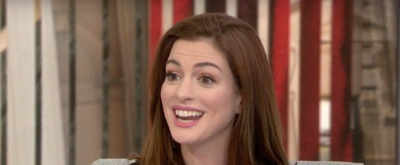 VIDEO: Anne Hathaway Chats OCEANS 8, Her Powerful Female Co-Stars, & More on TODAY