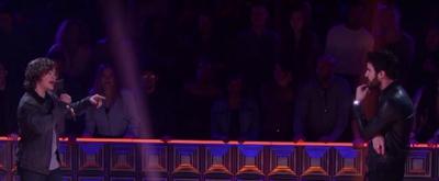 VIDEO: Watch Gaten Matarazzo and Darren Criss Battle it Out on TBS' DROP THE MIC