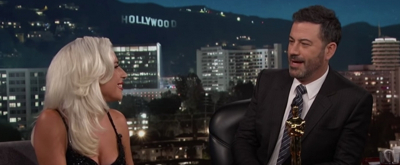VIDEO: Lady Gaga Talks Grammy Win And Love For Bradley Cooper On KIMMEL