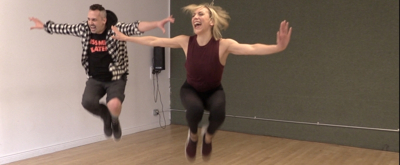 DANCE CAPTAIN DANCE ATTACK: Ben Gets Too Darn Hot with KISS ME, KATE's Erica Mansfield!