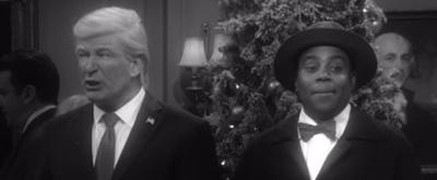 VIDEO: Alec Baldwin, Ben Stiller, Matt Damon, and Robert De Niro Kick Off the Holiday Season With 'It's a Wonderful Trump' on SNL