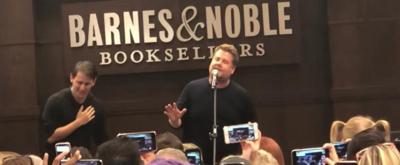 VIDEO: James Corden Sings 'Waving Through A Window' On DEAR EVAN HANSEN Book Tour