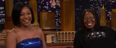 VIDEO: Tiffany Haddish Crashes Whoopi Goldberg's 'Tonight Show' Interview