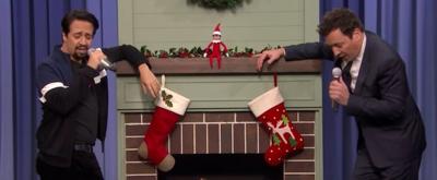 VIDEO: Lin-Manuel Miranda and Jimmy Fallon Sing Holiday Parodies of 2018's Top Hits