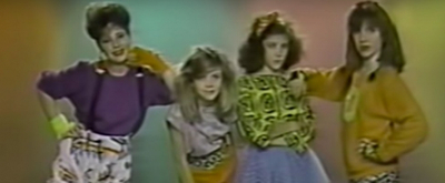 Video Flashback: Kerry Butler Performs With a Girl Group in the 80s
