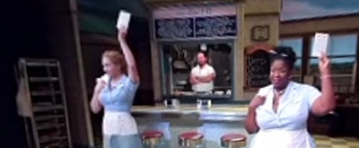 VIDEO: WAITRESS' Katharine McPhee and Company Are Opening Up in 360!