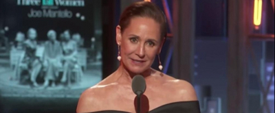 VIDEO: THREE TALL WOMEN's Laurie Metcalf Accepts a Tony Award for the Second-Straight Season