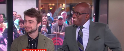VIDEO: Daniel Radcliffe Gives Al Roker Tips Ahead of His Run in WAITRESS