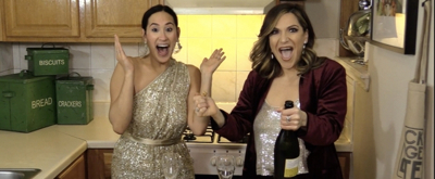 Backstage Bite with Katie Lynch: Shoshana Bean Toasts the New Year with Vanilla Bean Creme Brulee!