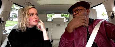 VIDEO: Samuel L. Jackson and Brie Larson Belt Out Ariana Grande's '7 Rings' in CARPOOL KARAOKE Preview
