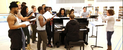 BWW TV: Watch Casey Cott, Christian Borle, Wesley Taylor & More Rehearse for THE WHO's TOMMY