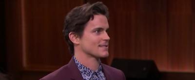 VIDEO: Matt Bomer Plays Charades With Jimmy Fallon on The Tonight Show