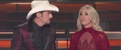 VIDEO: Carrie Underwood & Brad Paisley Spoof Trump with 'Before He Tweets' Parody