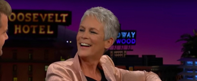 VIDEO: Jamie Lee Curtis Reflects on 40 Years of HALLOWEEN on THE LATE LATE SHOW