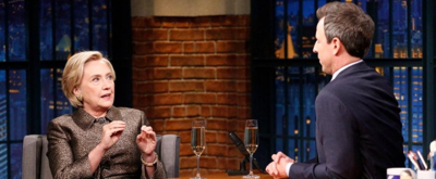 VIDEO: Hillary Clinton Discusses New Book & Hopes for the Future on LATE NIGHT