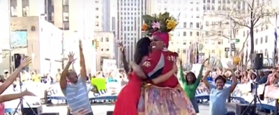 VIDEO: Watch Alex Newell, Hailey Kilgore, & the Cast of the Tony Nominated ONCE ON THIS ISLAND Revival on THE TODAY SHOW