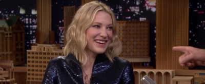 VIDEO: Cate Blanchett Chats OCEANS 8 & Her Favorite Burgers on THE TONIGHT SHOW