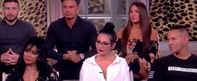VIDEO: The Cast of JERSEY SHORE Discuss Their Television Comeback on THE VIEW