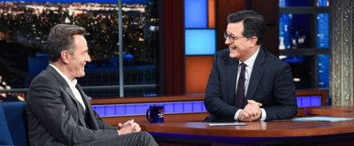 VIDEO: Bryan Cranston Tells THE LATE SHOW How NETWORK Teaches Him About Feeling 'Mad as Hell'