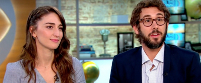 VIDEO: Sara Bareilles and Josh Groban Chat Tony Awards Preparation on CBS THIS MORNING