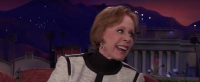 VIDEO: Carol Burnett Discusses Women in Comedy & More on CONAN