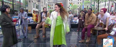 VIDEO: The HADESTOWN Cast Performs 'Livin' It Up on Top' on TODAY