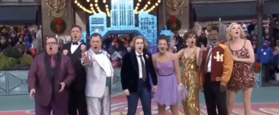 VIDEO: THE PROM Performs at the Thanksgiving Day Parade!