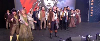 VIDEO: The Cast of LES MISERABLES Gives a Revolutionary Performance at West End Live