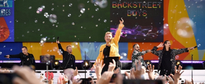 VIDEO: BUBBLEWORKS Filled NYC's Central Park with Bubbles for Backstreet Boys on ABC's GMA Summer Concert Series