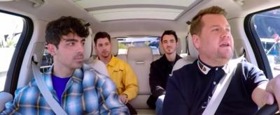 VIDEO: The Jonas Brothers Are 'Burning Up' on CARPOOL KARAOKE