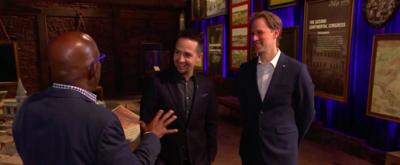 VIDEO: Lin-Manuel Miranda Takes TODAY on Special Tour of 'Hamilton: The Exhibition'