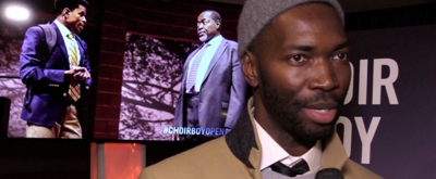 BWW TV: On the Red Carpet with the Company of CHOIR BOY