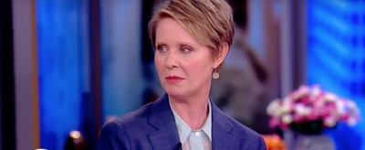 VIDEO: Cynthia Nixon Discusses Whether SEX AND THE CITY Fame Will Hurt Or Help Her Candidacy on THE VIEW