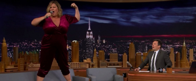 VIDEO: Bridget Everett Performs 'The Climb' on The Tonight Show Starring Jimmy Fallon