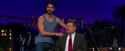 VIDEO: Darren Criss Crashes James Corden's 'The Assassination of Gianni Versace' Recap