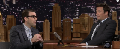 VIDEO: Zachary Quinto Talks THE BOYS IN THE BAND Audience Heckling and Leonard Nimoy On TONIGHT SHOW