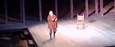 VIDEO: Tom Hanks Ad-Libs When Medical Emergency Halts Performance of HENRY IV
