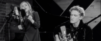 VIDEO: Watch ANASTASIA's Christy Altomare and Cody Simpson Duet on Acoustic 'Once Upon a December'