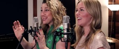 VIDEO: Taylor Louderman & Natalie Weiss on New Joey Contreras Single!