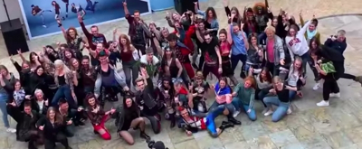 VIDEO: German Production of BAT OUT OF HELL Conducts a Flash Mob at the Mall