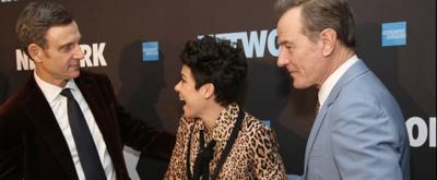 BWW TV: Bryan Cranston, Tony Goldwyn & Tatiana Maslany Get Happy As Hell on Opening Night of NETWORK!